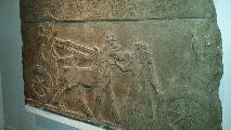 Image: Assyrian chariots.