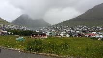 Image: Klaksvik, Borðoy. Capital of the northeastern islands, and the second largest town on the Faroe Islands.
