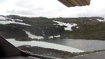 Image: Some waterfalls are to be expected. There's still some snow this high up, especially when the summer's been relatively cold. Some of it might survive till next year.
