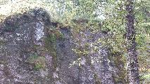Image: One of the main areas. This cliff face is the result of centuries of carving.